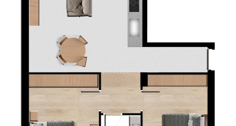 AIB01F Appartamenti Isolella  trilocale 75 mq